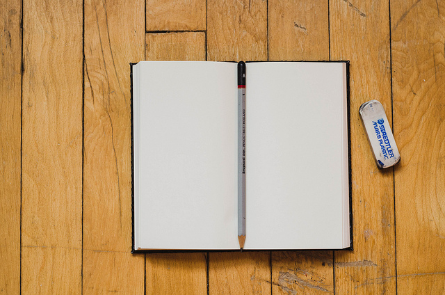 Notebook by Kelly Sikkema on Flickr CC
