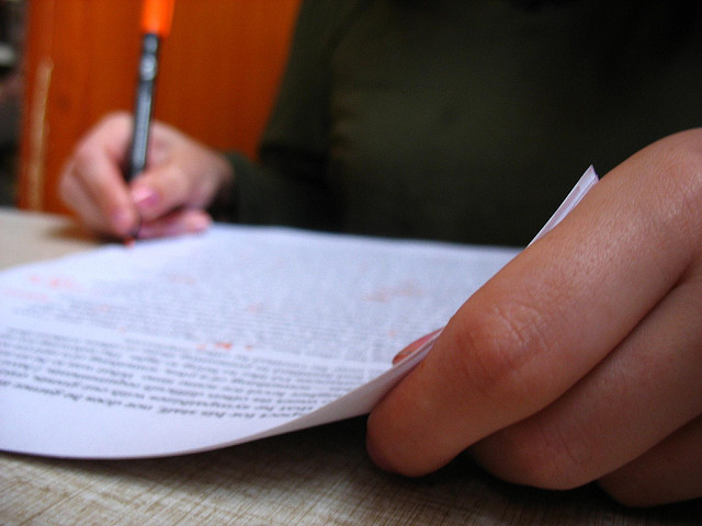 Paper and Pen by Orin Zebest on Flickr CC