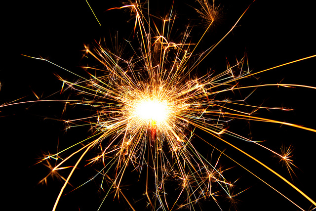 sparkler by Markus Grossalber on Flickr CC
