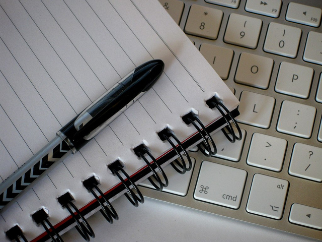 Writing Tools by Pete O'Shea on Flickr CC